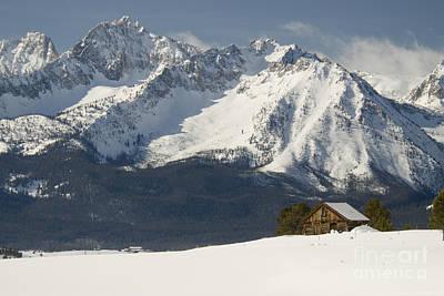 Sawtooth Mountains Poster