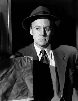 Scene Of The Crime, Van Johnson, 1949 Poster by Everett