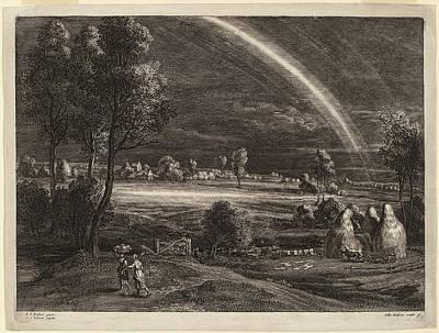 Schelte Adams Bolswert After Sir Peter Paul Rubens Flemish Poster