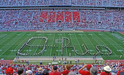 27w115 Script Ohio In Osu Stadium Poster
