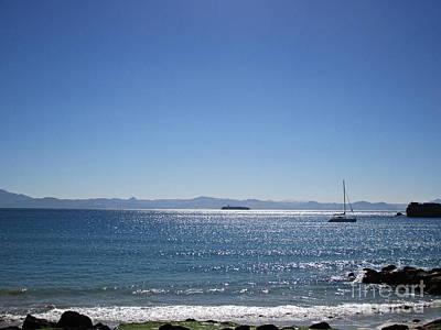 Sea In Tarifa Poster