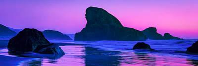 Sea Stacks On The Oregon Coast Poster
