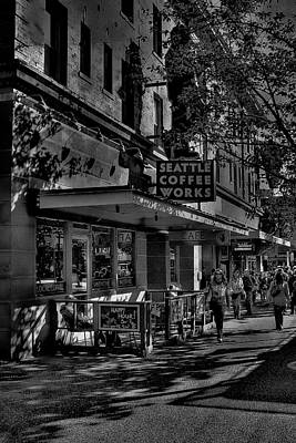 Seattle Coffee Works Poster