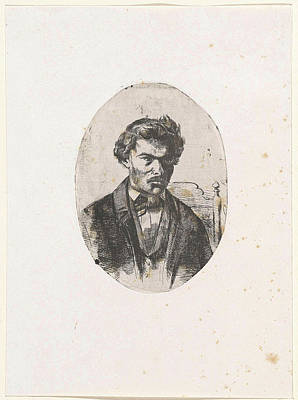 Self Portrait Of Frederick Henry Weissenbruch Poster