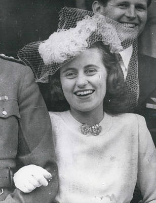 Senator Robert Kennedy's Sister Kathleen Poster by Retro Images Archive