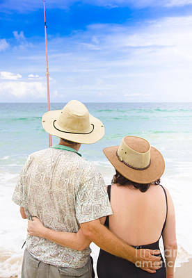 Senior Couple On Holiday Poster by Jorgo Photography - Wall Art Gallery