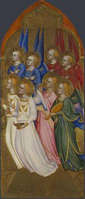 Seraphim Cherubim And Adoring Angels Poster