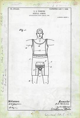Sexual Armour Patent Poster