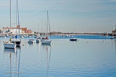 Poster featuring the photograph Sheepshead Bay Harbor by Ann Murphy