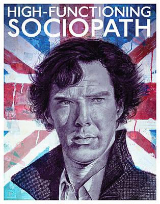 Sherlock Poster by Atish Banerjee
