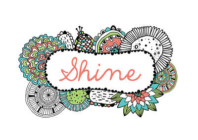 Shine Part 2 Poster by Susan Claire