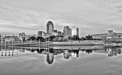 Shreveport Cityscape Poster