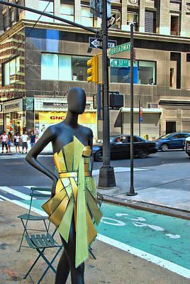 Sidewalk Catwalk 14 Poster by Allen Beatty