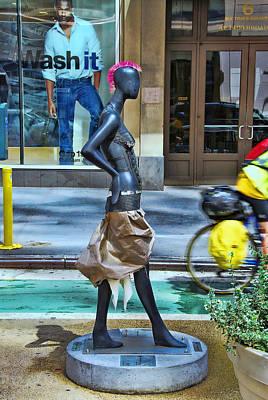 Sidewalk Catwalk 15 Poster by Allen Beatty