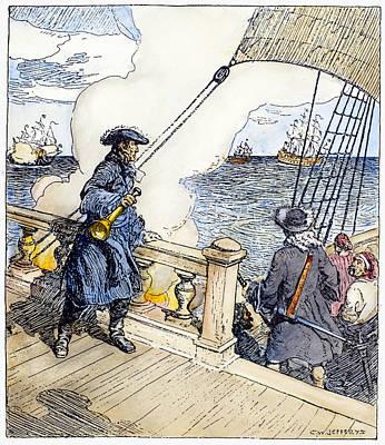 Sieur D'iberville (1661-1706) Poster