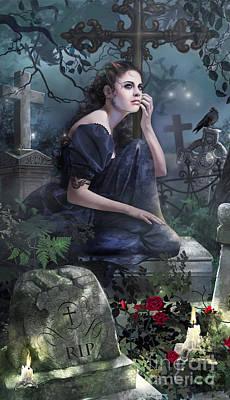 Silent Whispers Poster by Drazenka Kimpel