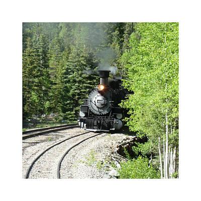 Silverton-durango Steam Engine Poster by Jack Pumphrey