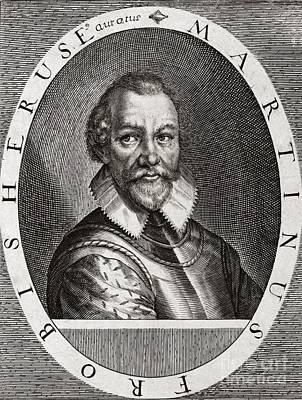 Sir Martin Frobisher, English Explorer Poster