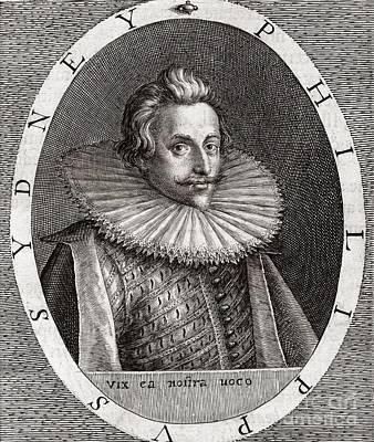 Sir Philip Sydney, English Poet Poster