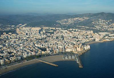 Sitges, Province Of Barcelona Poster by Jordi Todó Vila