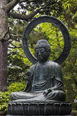 Sitting Buddha Poster by Adam Romanowicz