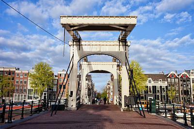 Skinny Bridge In Amsterdam Poster by Artur Bogacki