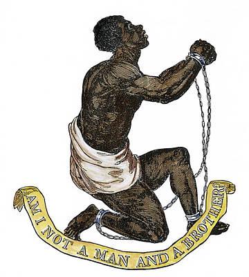 Slavery Abolition, 1835 Poster