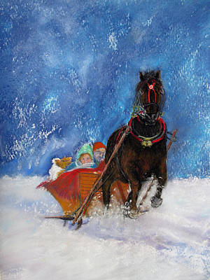 Sleigh Ride Poster