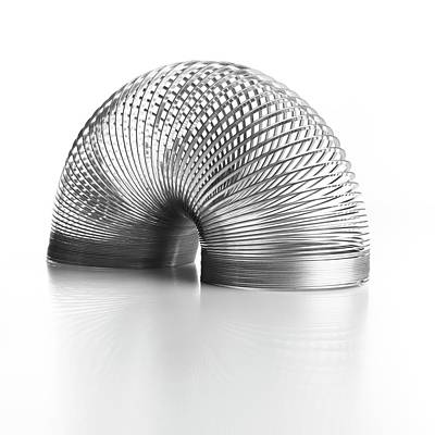 Slinky Spring Poster by Science Photo Library