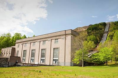 Sloy Hydro Power Station Poster by Ashley Cooper
