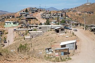 Slum Poster by Jim West
