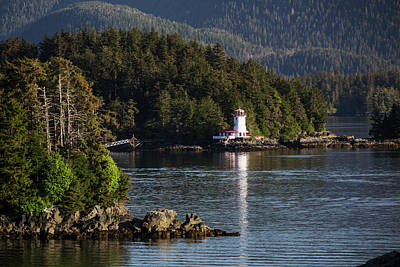 Small Islands Populated By Sitka Spruce Poster by Kevin Smith