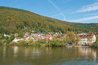 Small Town On The Neckar River, Germany Poster