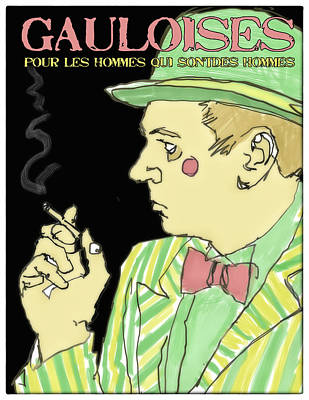 Smoke Poster by H James Hoff