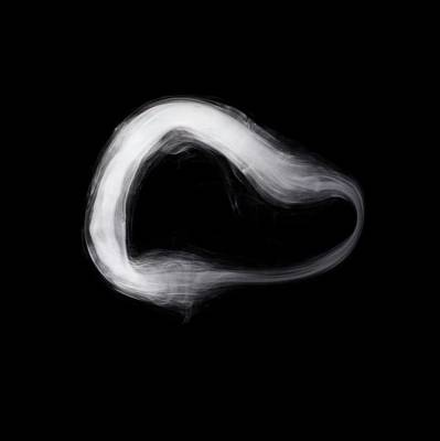 Smoke Ring Poster by Science Photo Library