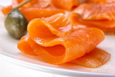Smoked Salmon Poster by Colin and Linda McKie