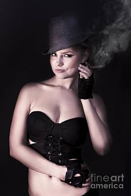 Smoking Hot Fashion Poster