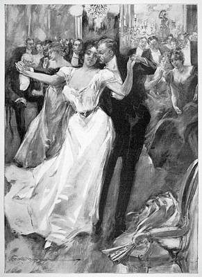 Society Ball, C1900 Poster by Granger