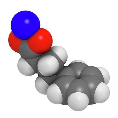 Sodium Phenylbutyrate Drug Molecule Poster by Molekuul