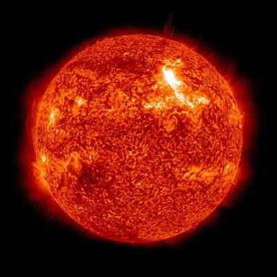 Solar Activity, Sdo Ultraviolet Image Poster