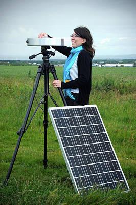 Solar Radiation Monitoring Poster
