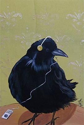 Song Bird Poster by Eva Trinczek