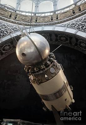 Soviet Vostok Spacecraft, Display Model Poster by RIA Novosti