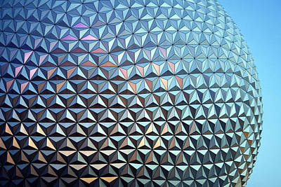 Poster featuring the photograph Spaceship Earth by Cora Wandel