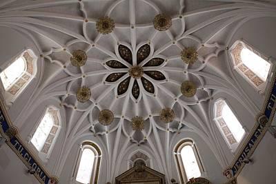 Spain. Teruel. Estercuel. Monasterio De Poster