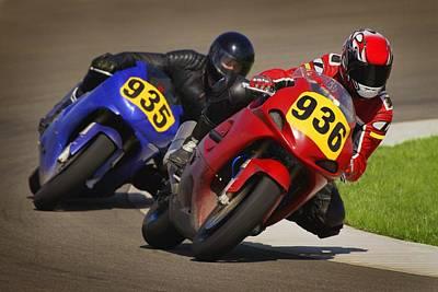 Speed Bike Race Poster by Don Hammond