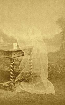 Spirit Photograph Poster by American Philosophical Society