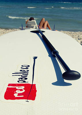 Stand Up Paddle Boards Poster by Stelios Kleanthous