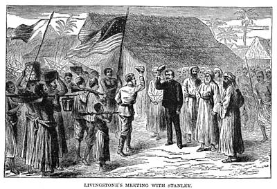 Stanley & Livingstone, 1871 Poster