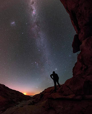 Stargazing In The Atacama Desert Poster